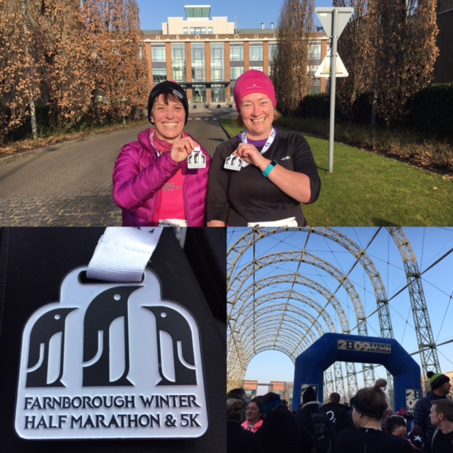 January – Farnborough Winter Half Marathon