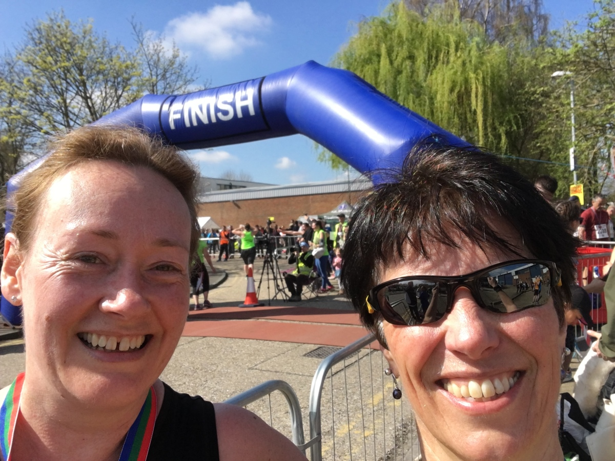 April – Paddock Wood Half Marathon