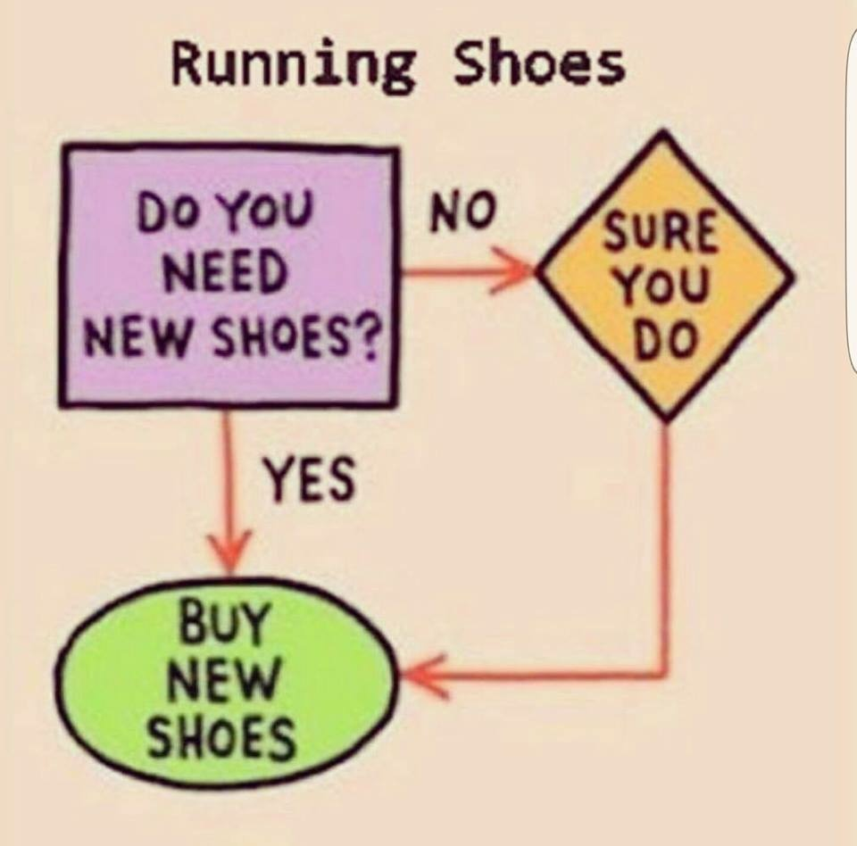 Can a Girl have too many (Running) Shoes?