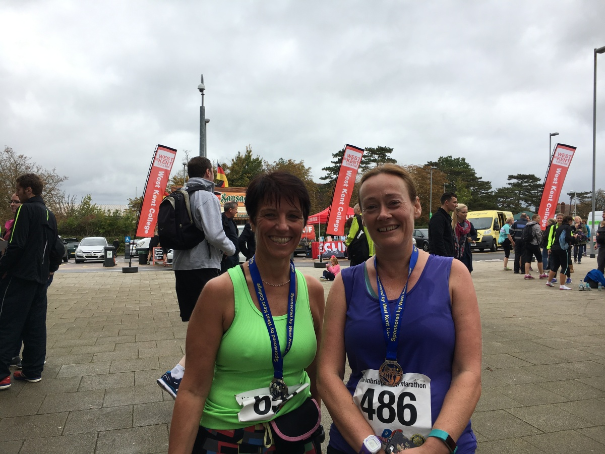 October – Tonbridge Half Marathon